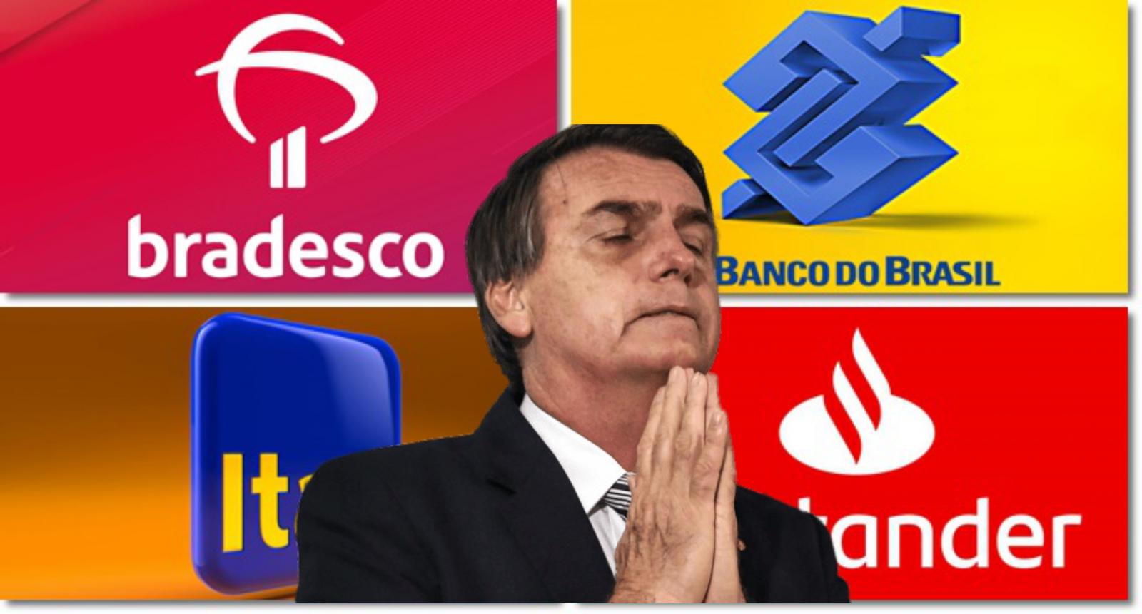 Banqueiros dividem R$ 52 bilhões do lucro recorde no primeiro ano do governo Bolsonaro