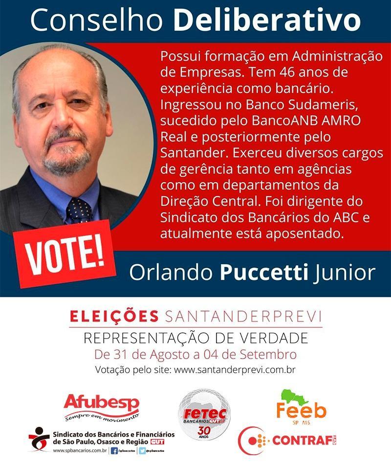 Eleições SantanderPrevi: Sindicato apoia Patrícia Bassanin e Orlando Puccetti