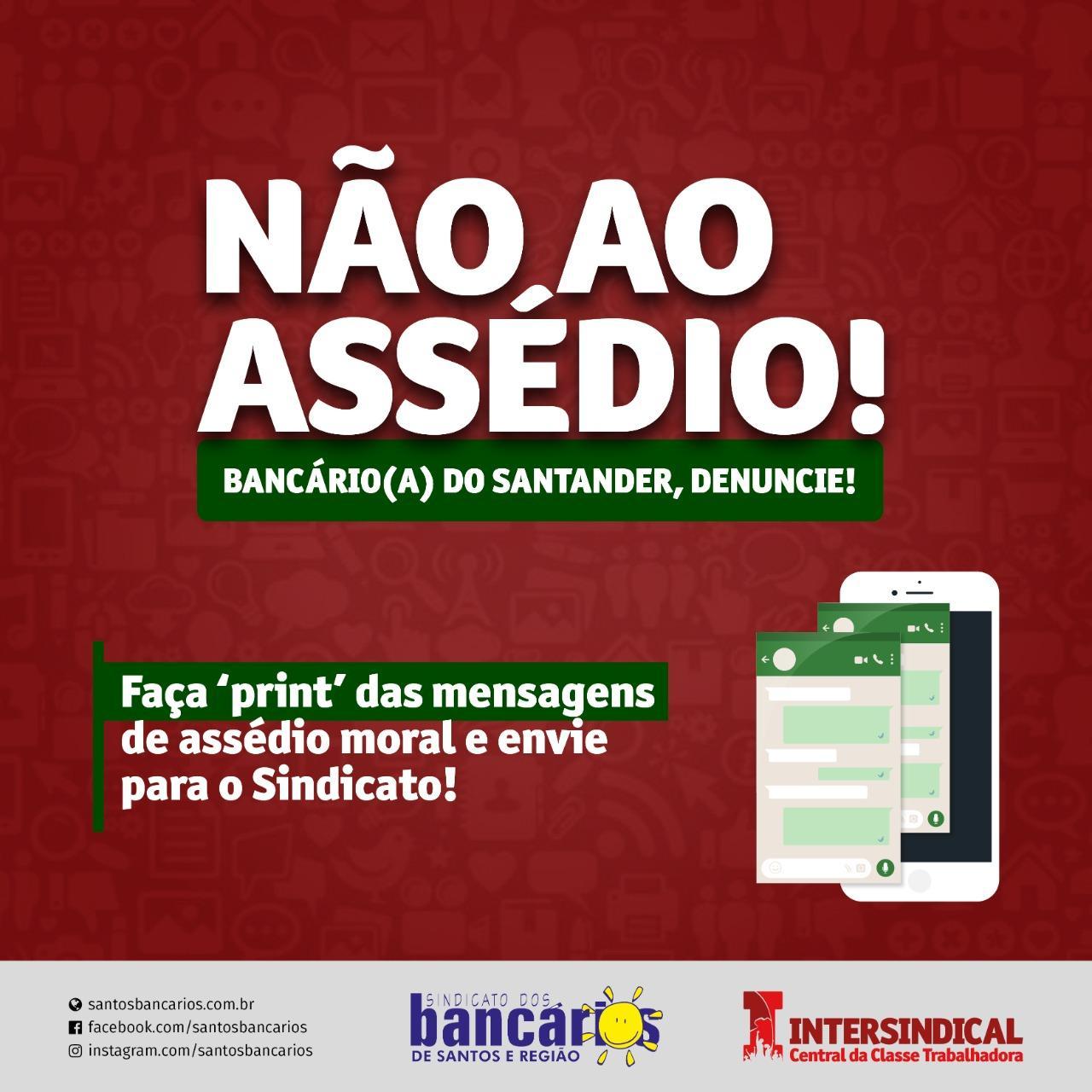 Apps do Santander geram mais metas e transtornos para os bancários
