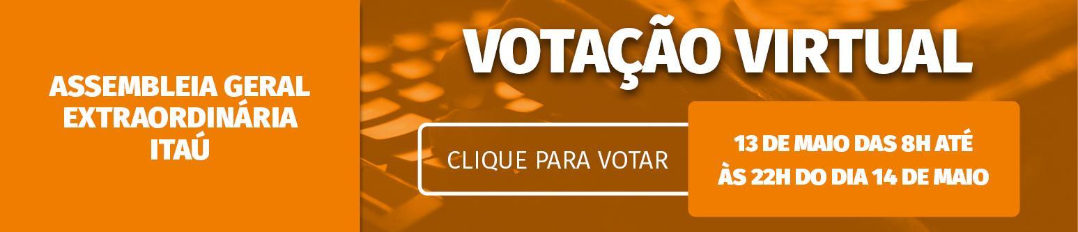 Assembleia Virtual - Itaú - acts, bolsas, pandemia